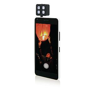 LIGHTY LED blesk pro mobilní telefon, černý