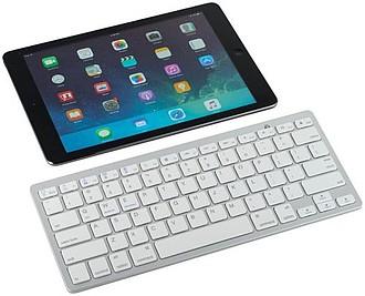 Bluetooth® cestovní klávesnice, bílá