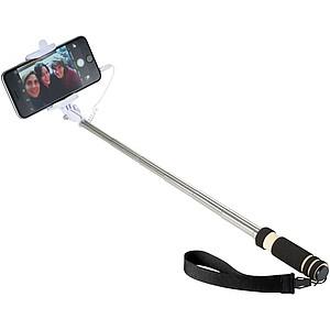 Mini Selfie držák s poutkem, černá