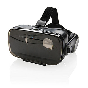 VR brýle sintegrovaným sluchátkem, černá