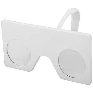 Mini virtuální brýle s klipem, bílá