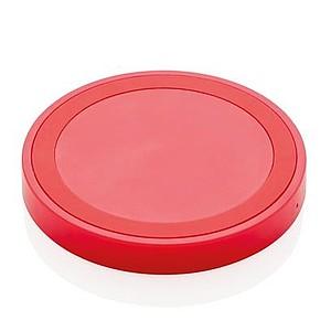 5W bezkontaktní nabíječka, červená