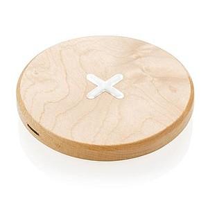 5W bezkontaktní dřevěná nabíječka
