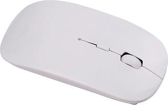 Bílá bezdrátová myš