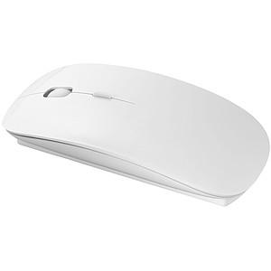 Bezdrátová myš, plochá, bílá