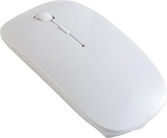Bezdrátová optická počítačová myš, bílá