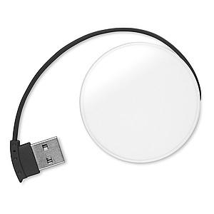 4 portový USB hub, černý