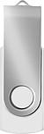 KARKULA USB flash disk kapacita 16GB, stříbrno bílá