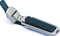 ARMEL USB flash disk kožený, kapacita 8GB, černá