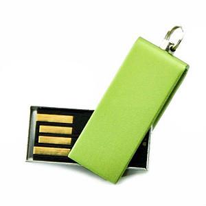 Mini USB flash disk, kapacita 2GB, zelená