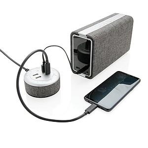 USB nabíječka Vogue, šedá