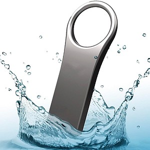 RONALDINA Stylový mini USB flash disk 2.0, 16 GB, stříbrný