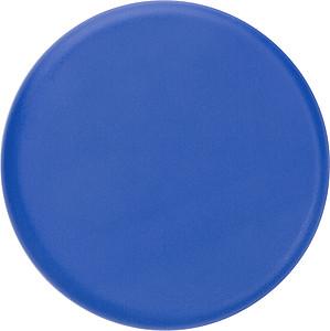 Sluchátka v krabičce ve stejné barvě, modré