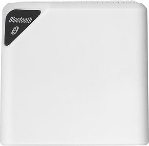 Bluetooth reproduktor kostka, bílý