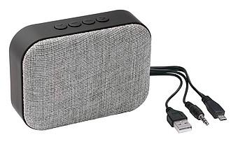 Bluetooth reproduktor, šedý