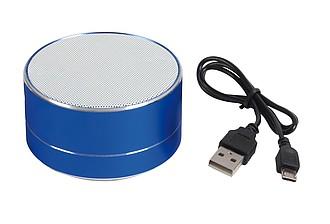 DRACULA Bluetooth reproduktor s výkonem 3 W, modrý