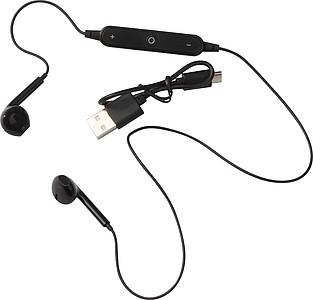 Bezdrátová sluchátka do uší s ovládáním hlasitosti