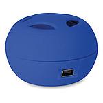 MINIMUSIC Mini reproduktor s kabelem micro USB, modrá