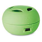 MINIMUSIC Mini reproduktor s kabelem micro USB, zelená