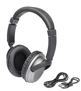 Velká bezdrátová sluchátka na uši