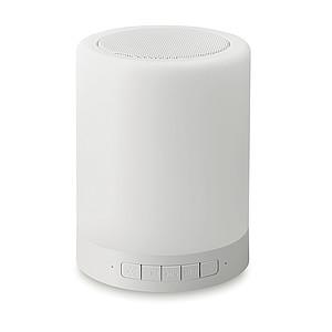 Přenosný BT reproduktor s funkcí hands free, bílá