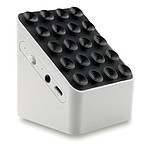 2.1 Bluetooth reproduktor a držák na chytrý telefon, bílá