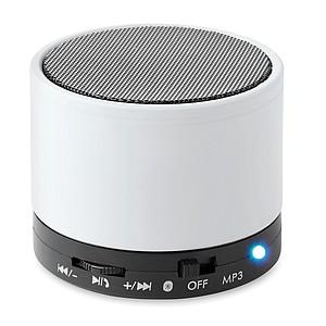 Bluetooth reproduktor z ABS s metalickým vzhledem