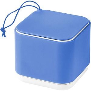 Čtvercový Bluetooth reproduktor, modrá