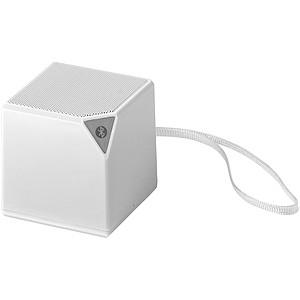 Bluetooth reproduktor s integrovaným mikrofonem, bílá