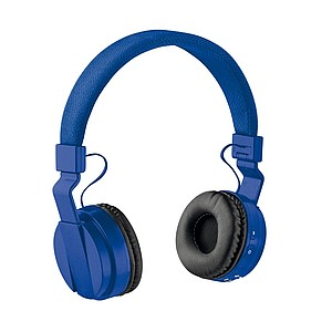 Skládací bezdrátová sluchátka, královská modrá