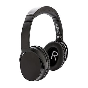 ANC sluchátka, černá