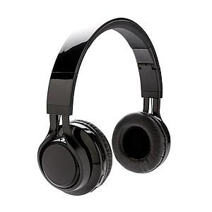Light up bezdrátové sluchátka, černá