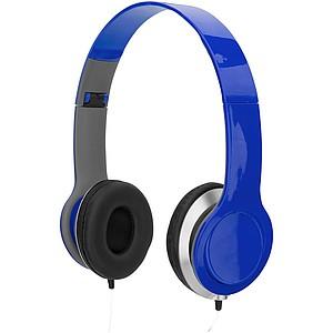 Sluchátka s audio konektorem 3,5 mm, královská modrá