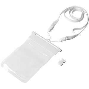 AGARA Voděodolný transparentní vak na mobil, bílá