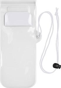 KORFIK Plastové voděodolné ochranné pouzdro pro mobilní telefon, bílá