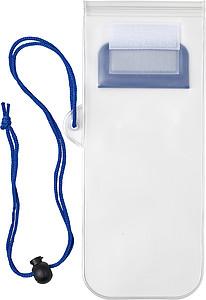 KORFIK Plastové voděodolné ochranné pouzdro pro mobilní telefon, modrá