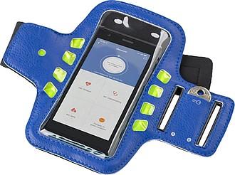 Obal na mobil s páskem na rameno a LED diodami