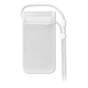 Pouzdro pro smartphone, transparentní bílá