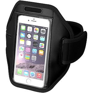 Sportovní obal na mobil připevnitelný na paži, černý