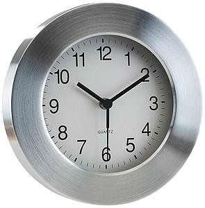 hodiny nástěnné kulaté z hliníku