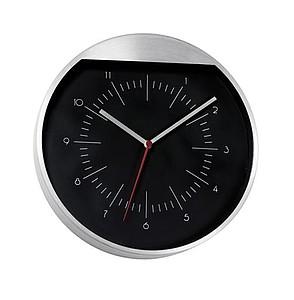 ROUNDABOUT Nástěnné hodiny s hliníkovým rámem