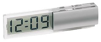 ROTHERA stolní hodiny s transparentním displejem
