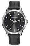 Pierre Cardin-Montgallet pánské hodinky s koženým černým páskem