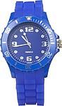 GROTI Plastové náramkové hodinky, modré