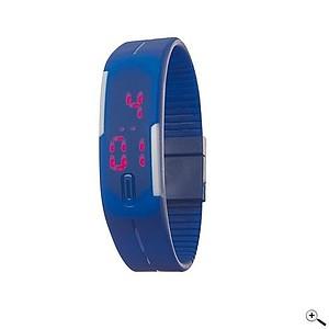 INTIME Digitální náramkové hodinky, modré