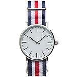 Náramkové hodinky s barevným páskem