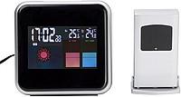 OSAMA Digitální meteostanice s hodinami, budíkem, předpovědí počasí a teplotou