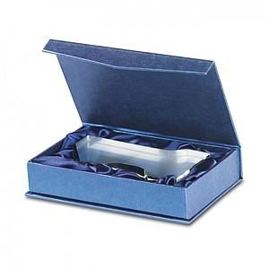 TROFEJ Skleněná trofej ve tvaru jedničky, dárková krabička