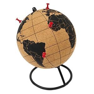 Globus z korku