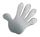 magnet na poznámky ve tvaru ruky